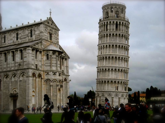 The Cathedral and Leaning Tower of Pisa