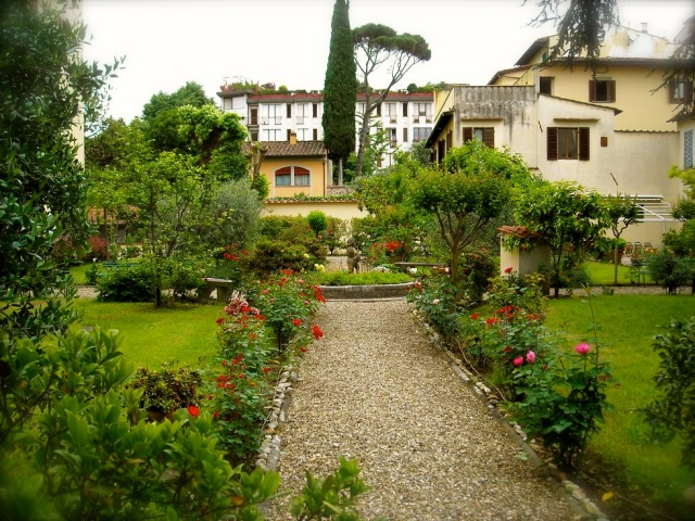 Garden of the Monastery in Florence