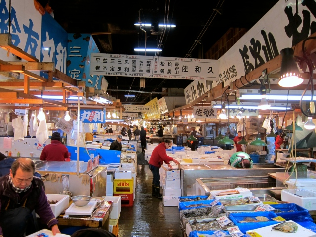 Tsukijishijo Fish Market Visit