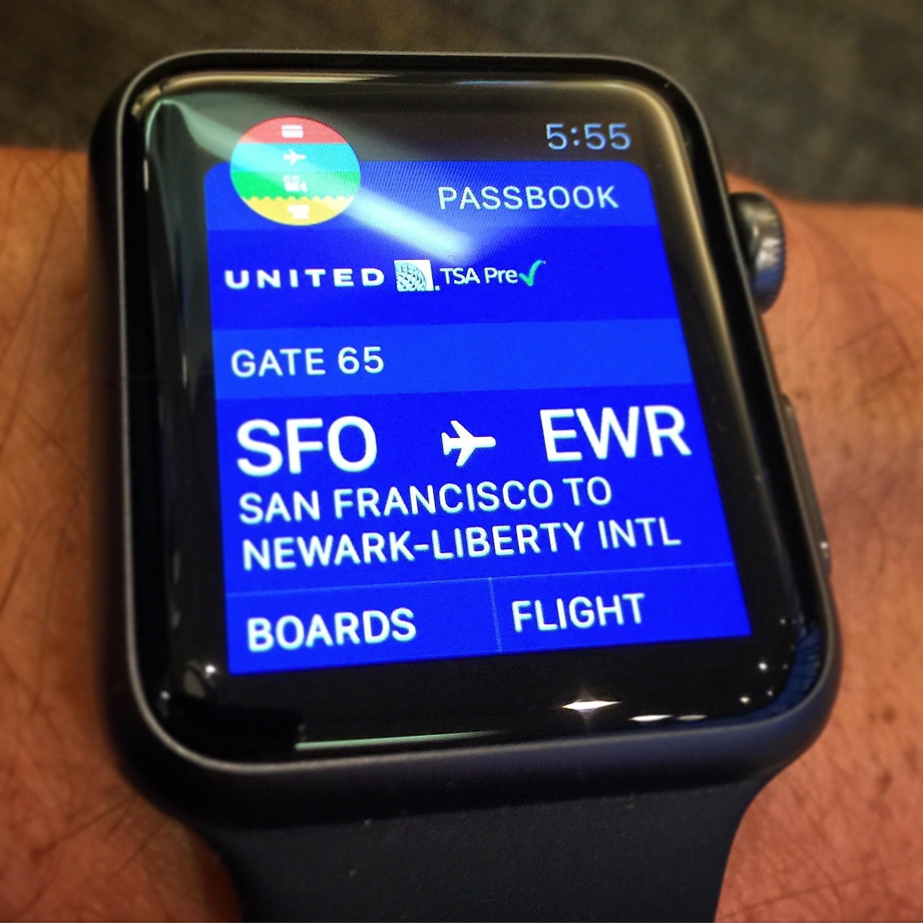 Apple Watch: Passbook