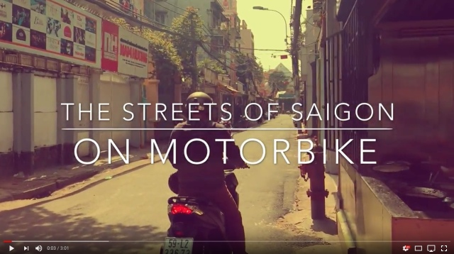 The Streets of Saigon on Motorbike